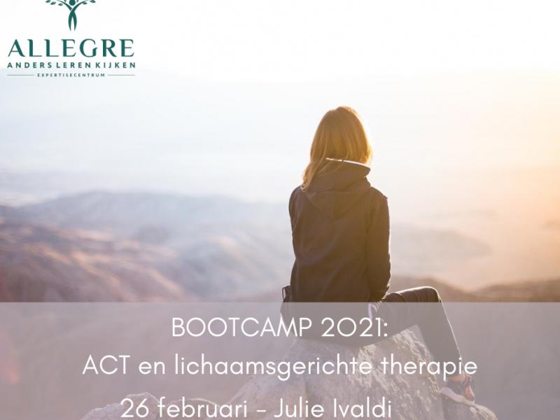 Bootcamp workshop: ACT en lichaamsgerichte therapie