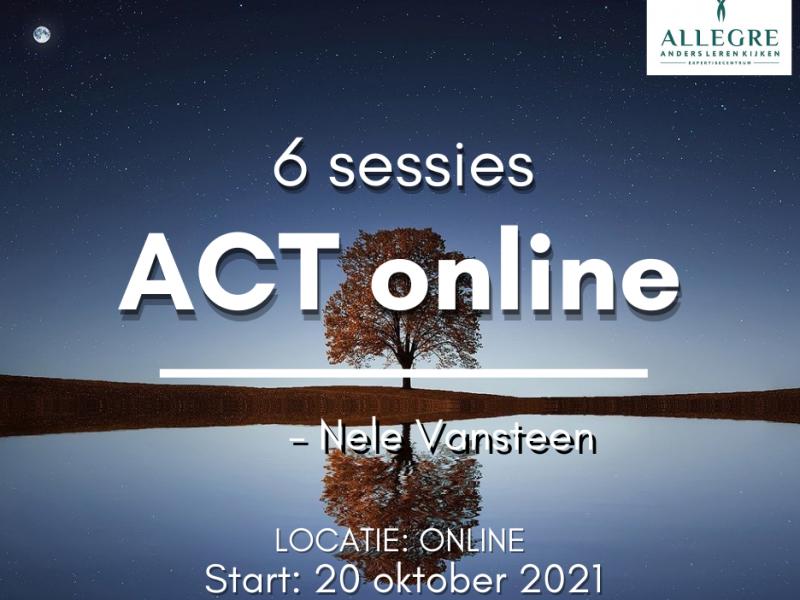 'ACT online' - met start op 20 oktober