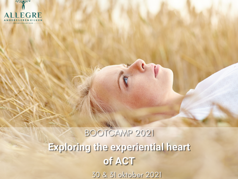 "Bootcamp 2021 workshop: ""Exploring the experiential heart of ACT"""