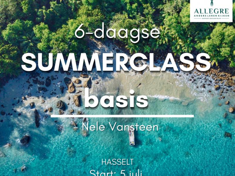 Summerclass: 6-daagse basisopleiding ACT te Hasselt - ODB 0003507 - met start op 5 juli