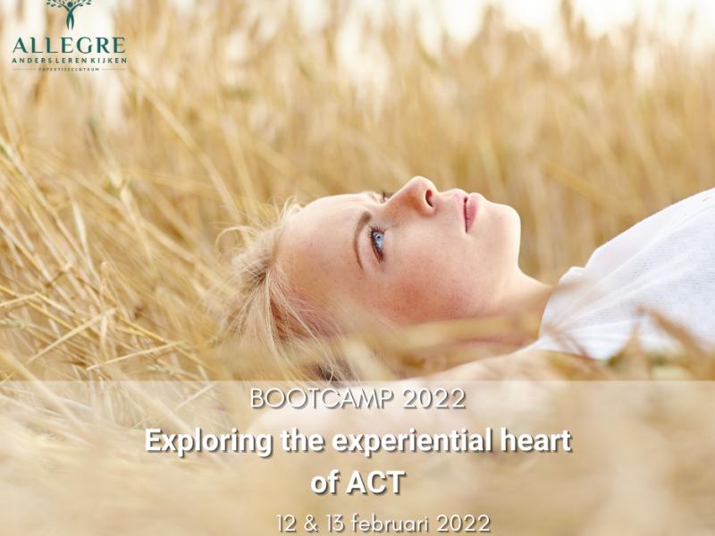 "Bootcamp workshop: ""Exploring the experiential heart of ACT"" - met start op 12 februari 2022"