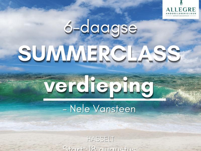 Summerclass: 6-daagse ACT verdiepingsopleiding te Hasselt - ODB0003508 - met start op 18 augustus