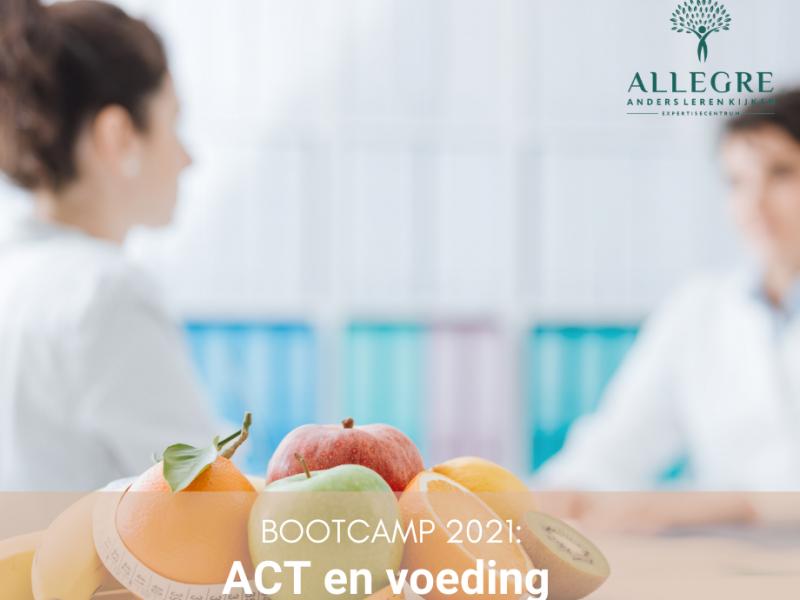 Bootcamp workshop: ACT en voeding – 4 februari 2022